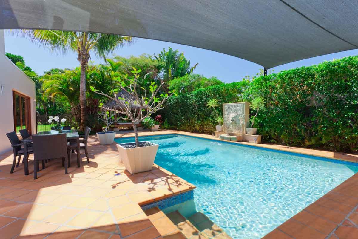 villa met prive zwembad